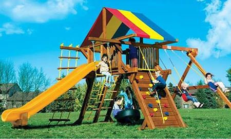 Picture for category Rainbow Play Systems