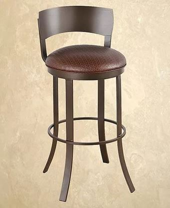 Picture of Calle Bailey Swivel Barstool