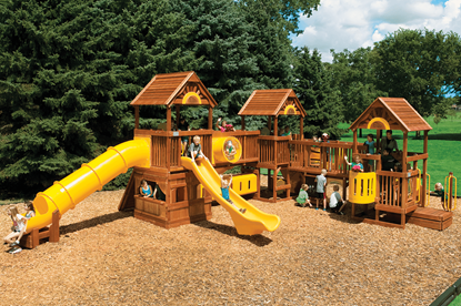 Picture of Rainbow Play Village Unit C Design 54C