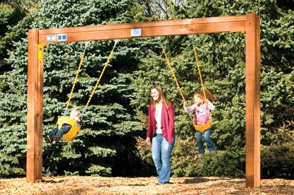 Picture of Toddler Swing Beam Design C61