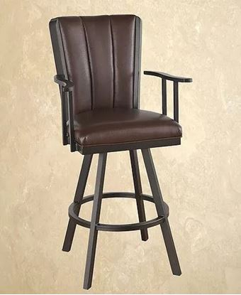 Picture of Calle Bogart Flex Swivel Barstool