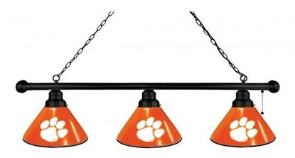 Picture of Clemson University Logo Billiards Light