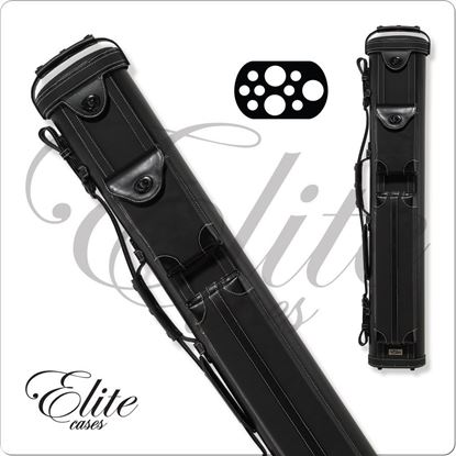 Picture of Elite ECV37 3x7 Vintage Leather Cue Case