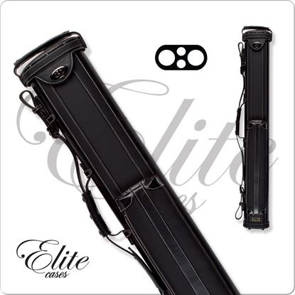 Picture of ELITE ECV22 2X2 VINTAGE LEATHER CUE CASE