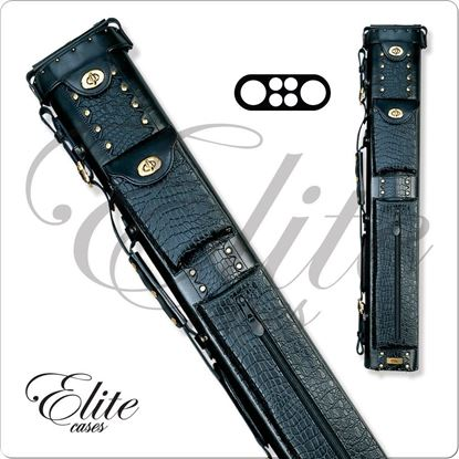 Picture of ELITE ECL24 2X4 LEATHER HARD CUE CASE