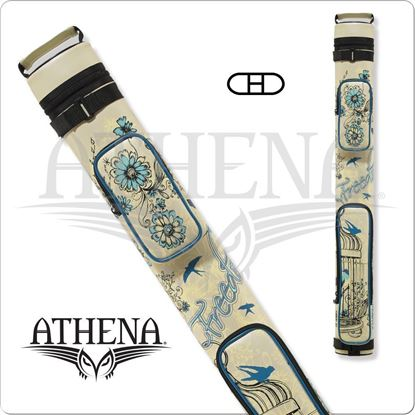 Picture of ATHENA ATHC10 2X2 HARD EMBROIDERED CUE CASE
