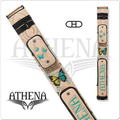 Picture of Athena ATHC09 2x2 Hard Embroidered Cue Case