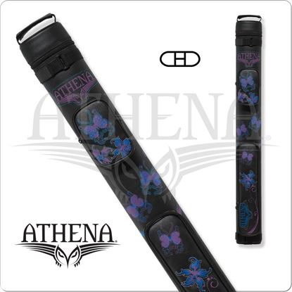 Picture of ATHENA ATHC08 2X2 HARD EMBROIDERED CUE CASE