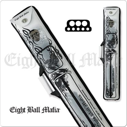 Picture of EIGHT BALL MAFIA EBMCNB 3X5 HARD CUE CASE