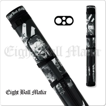 Picture of EIGHT BALL MAFIA EBMC22B 2X2 HARD CUE CASE