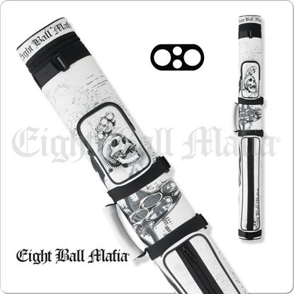 Picture of EIGHT BALL MAFIA EBMC22E 2X2 HARD CUE CASE