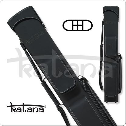 Picture of KATANA KATC03 2X4 LEATHER HARD CUE CASE