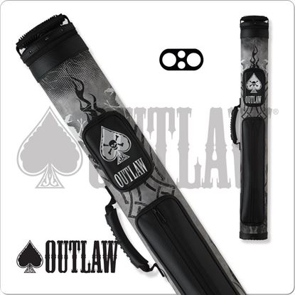 Picture of OUTLAW OLB22A 2X2 BLACK TIRE TREAD HARD CUE CASE