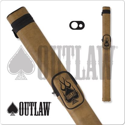 Picture of OUTLAW OLH11 1X1 HARD CUE CASE