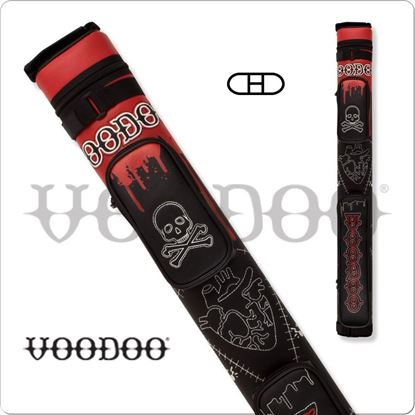 Picture of VOODOO VODC22A 2X2 STITCH VOODOO HARD CUE CASE
