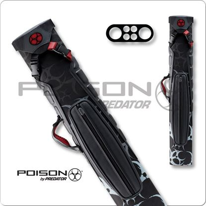 Picture of POISON ARMOR POC02 2X4 HARD CUE CASE
