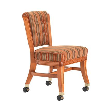 Picture of Darafeev 960 Armless Club Chair with Casters