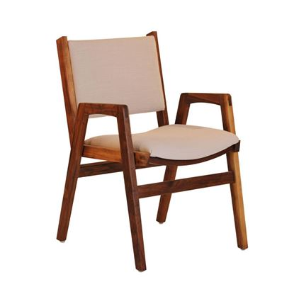 Picture of Darafeev Spencer Stacking Chair- Walnut