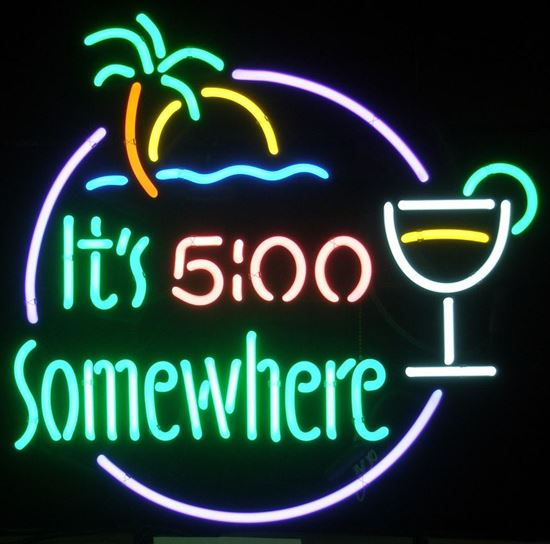 Picture of 5 O'Clock Somewhere Neon
