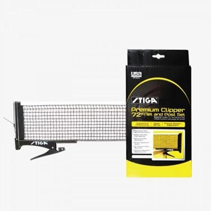 Picture of Stiga Premier Clipper Table Tennis Net & Post Set