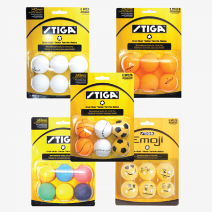 Picture of Stiga One Star Table Tennis Balls
