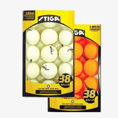 Picture of Stiga 38 Pack Table Tennis Balls
