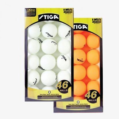 Picture of Stiga 46 Pack Table Tennis Balls