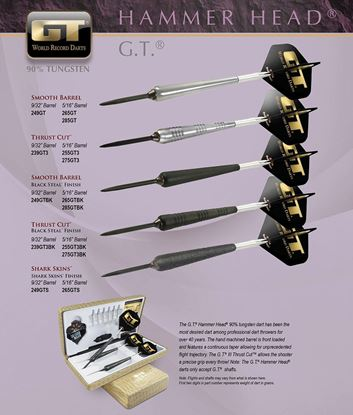 Picture of Bottleson Hammer Head G.T. Darts