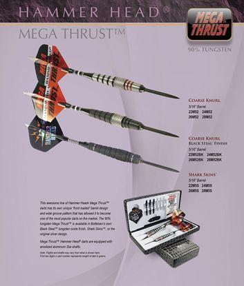 Picture of Bottleson  Hammer Head Mega Thrust Darts