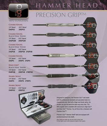 Picture of Bottleson Hammer Head Precision Grip Darts