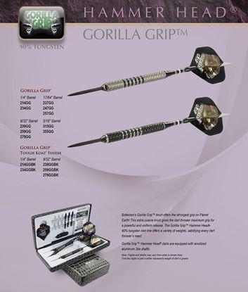 Picture of Bottleson Hammer Head Gorilla Grip Darts