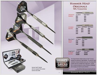 Picture of Bottleson Hammer Head Originals Darts