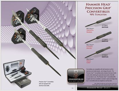 Picture of Bottleson Hammer Head Precision Grip Convertible Darts