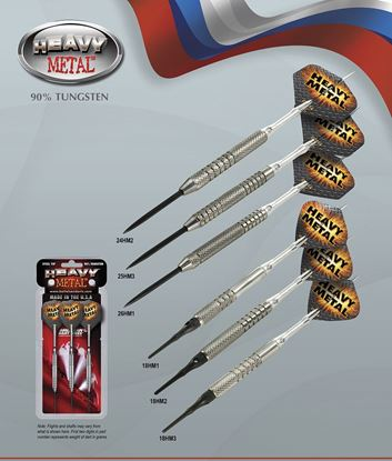 Picture of Bottleson Heavy Metal Darts