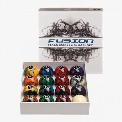 Picture of Pro Series Black Marbleized Ball Set