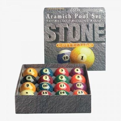 Picture of Aramith Stone Collection Billiard Ball Set