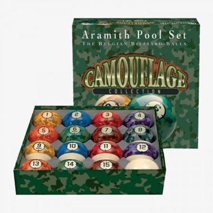 Picture of Aramith Camouflage Collection Ball Set