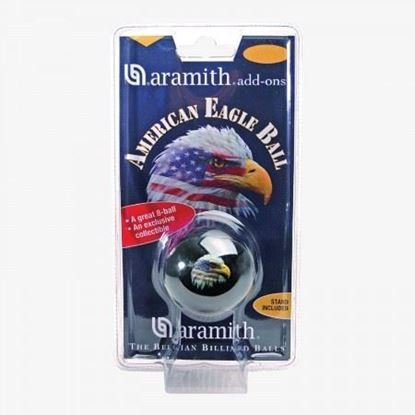 "Picture of Aramith Eagle 2 1/4"" 8-Ball"