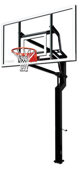 """Picture of Goalsetter MVP 72"""" x 42"""" In Ground Basketball Goal"""