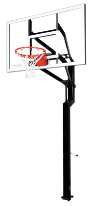 "Picture of Goalsetter All-American 60"" x 38"" In Ground Basketball Goal"