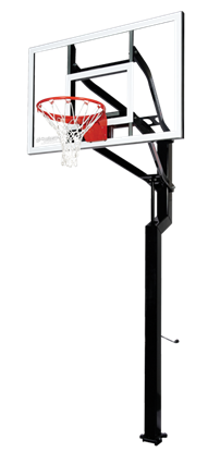 "Picture of Goalsetter All-Star 54"" x 36"" In Ground Basketball Goal"