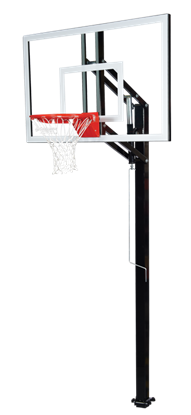 "Picture of Goalsetter Elite Plus 54"" In Ground Basketball Goal"