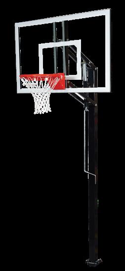 """Picture of Goalsetter Elite Plus 54"""" In Ground Basketball Goal"""