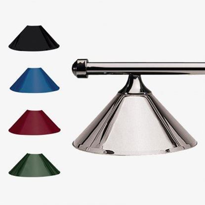 Picture of HJ Scott Gunmetal Bar 3-Shade Metal Light