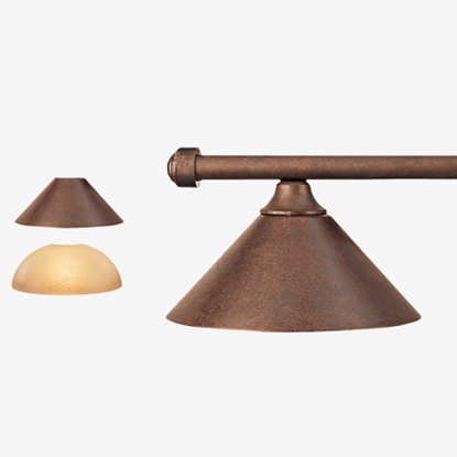 Picture of HJ Scott Autumn Rustic Bar 3-Shade Light