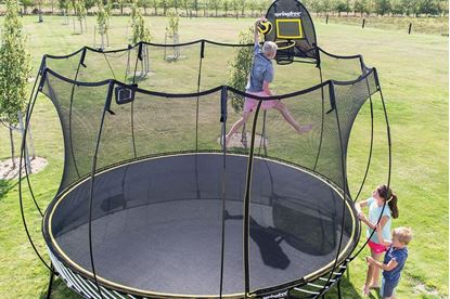 Picture of Springfree R132 12.8ft Jumbo Round Smart Trampoline