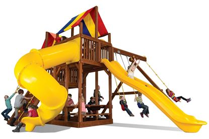 Picture of King Kong Base Clubhouse Pkg II with Dual Slides 45B