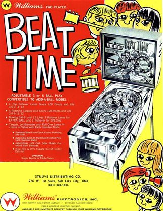 Picture of Beat Time Pinball Machine by Williams