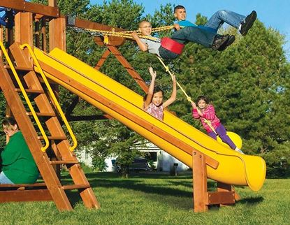 Picture of 11' Super Scoop Slide