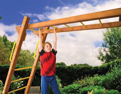 "Picture of 4"" x 4"" Monkey Bars"
